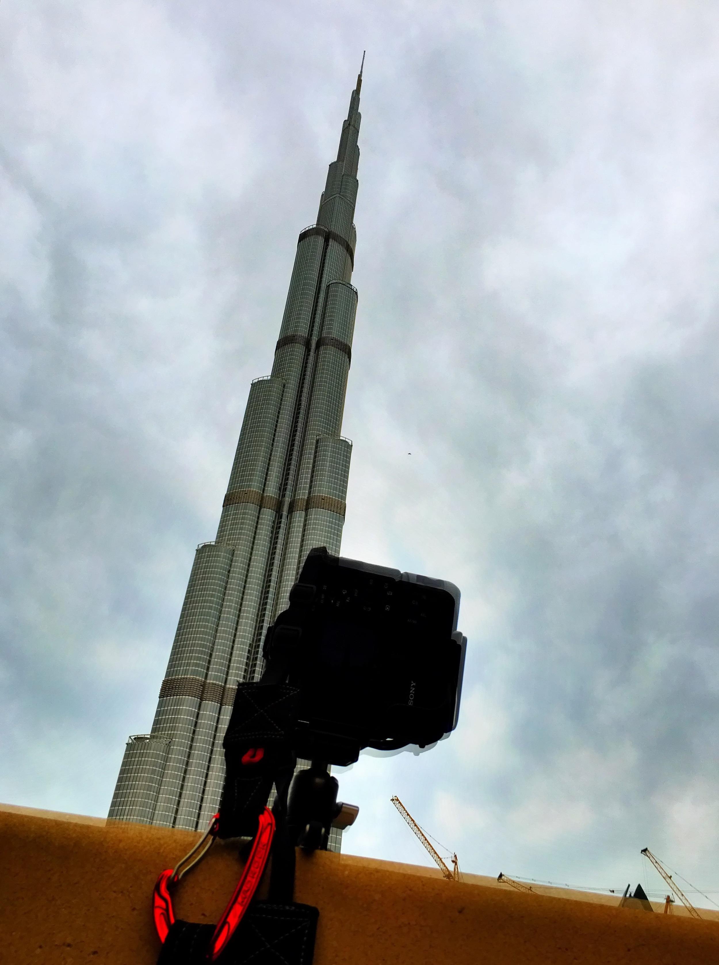 Richard Harrington sent us this picture of his trip to Dubai