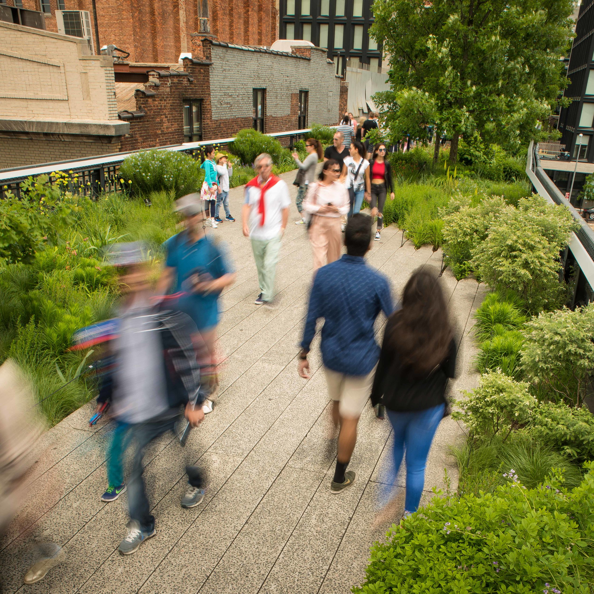 Showing Motion through Long Exposure Photography at the Highline ...