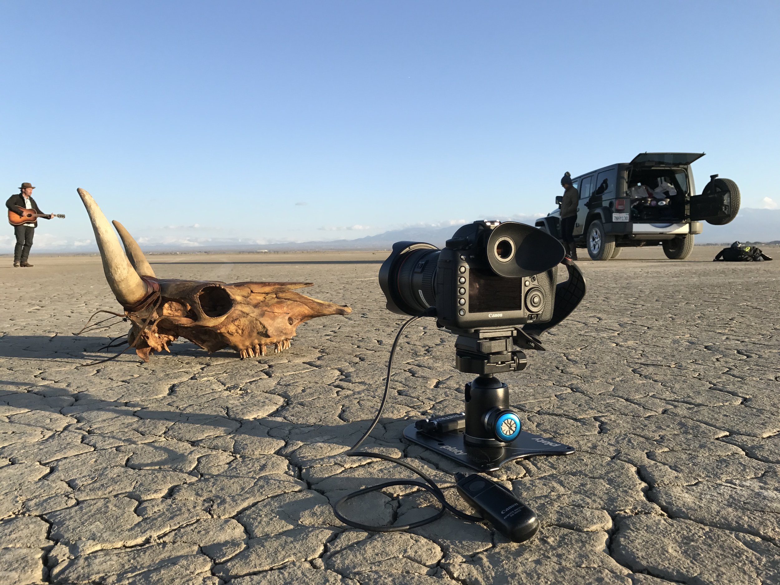 The Platypod Max makes it real easy to fix your camera at a low angle when you are shooting more than one frame of a set up. © Ian Spanier Photography 2017