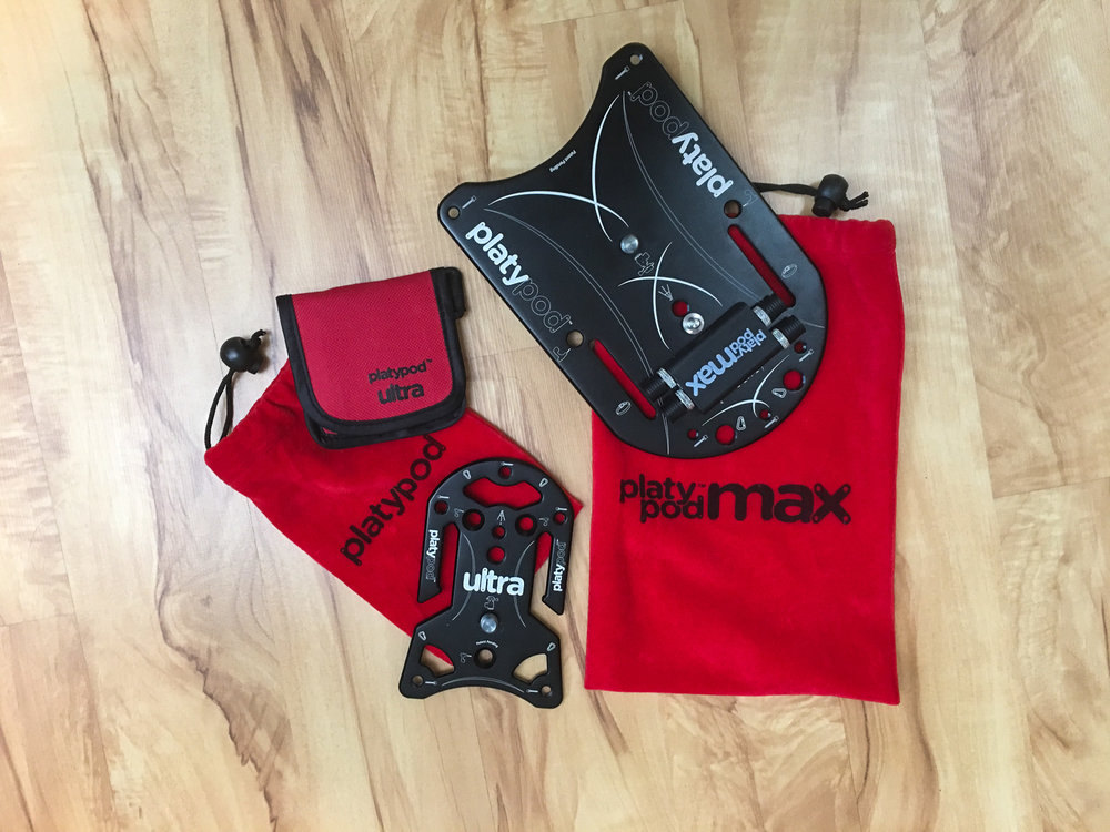 Pictured:  Platypod Ultra  and  Platypod Max . Scott Davenport uses both in his tool kit! Pic by: Scott Davenport