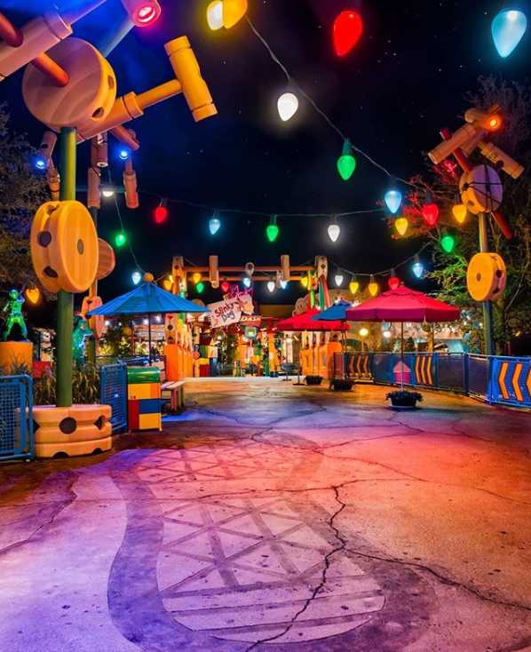 """""""Toy Story Land has arrived! I went to the opening day of this wonderful new land from the morning and all the way until the end of the night..."""" -  @lisa.disney"""
