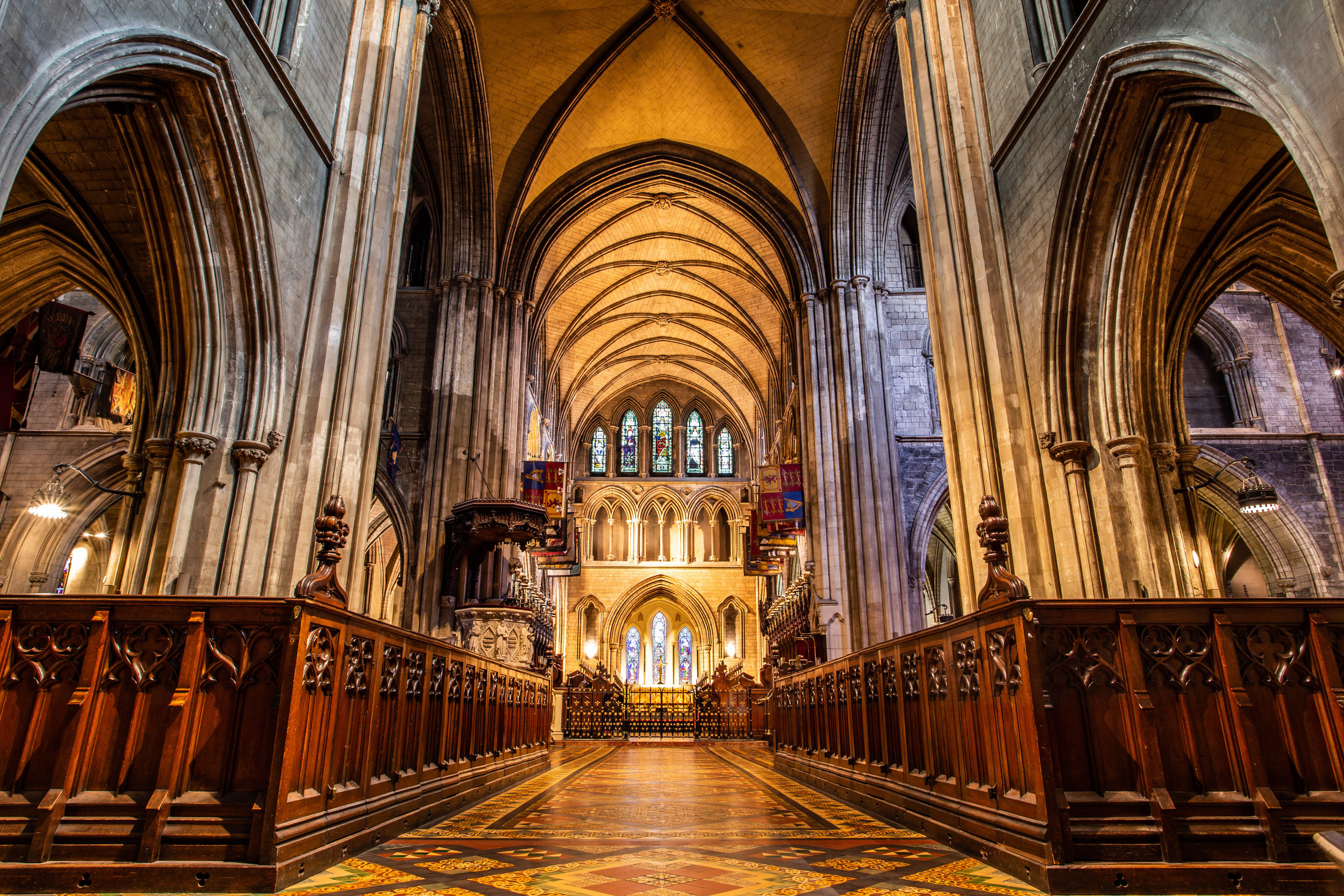 Pictured: St. Patrick's Cathedral, Dublin; Photo Credit: Cathy Baitson