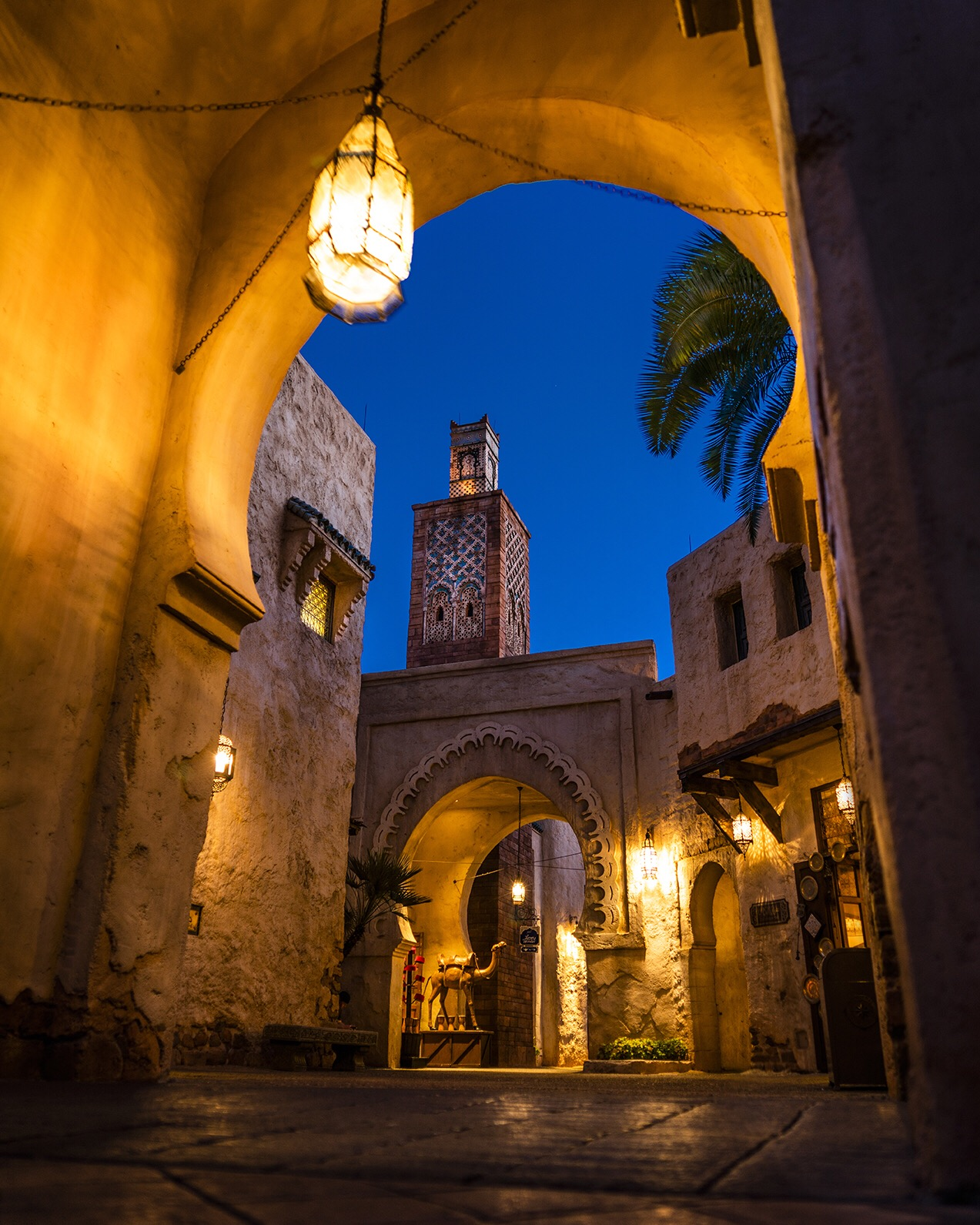 Pictured: Morocco Pavilion at Epcot during 2018 Worldwide Photowalk. Taken with Platypod Ultra for camera support. By Mike Wewerka