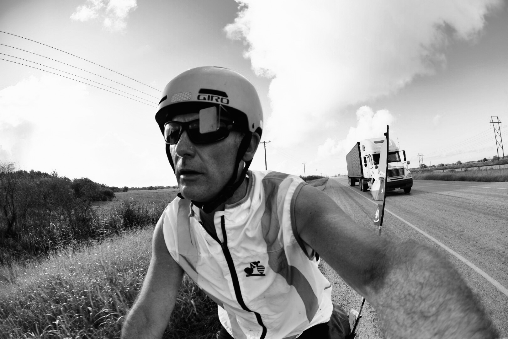 Retired U.S. Coast Guard Photojournalist Keith Spangler recently cycled through five states, covering 1,400 miles. He used his Platypod Max to document the journey and as camera support along the way.