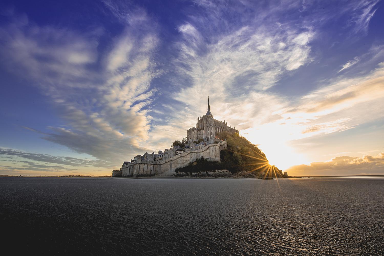 Mont-Saint-Michel. Photo by Dave Williams