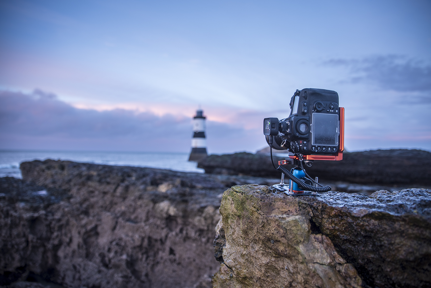 travel tripod for ocean photography