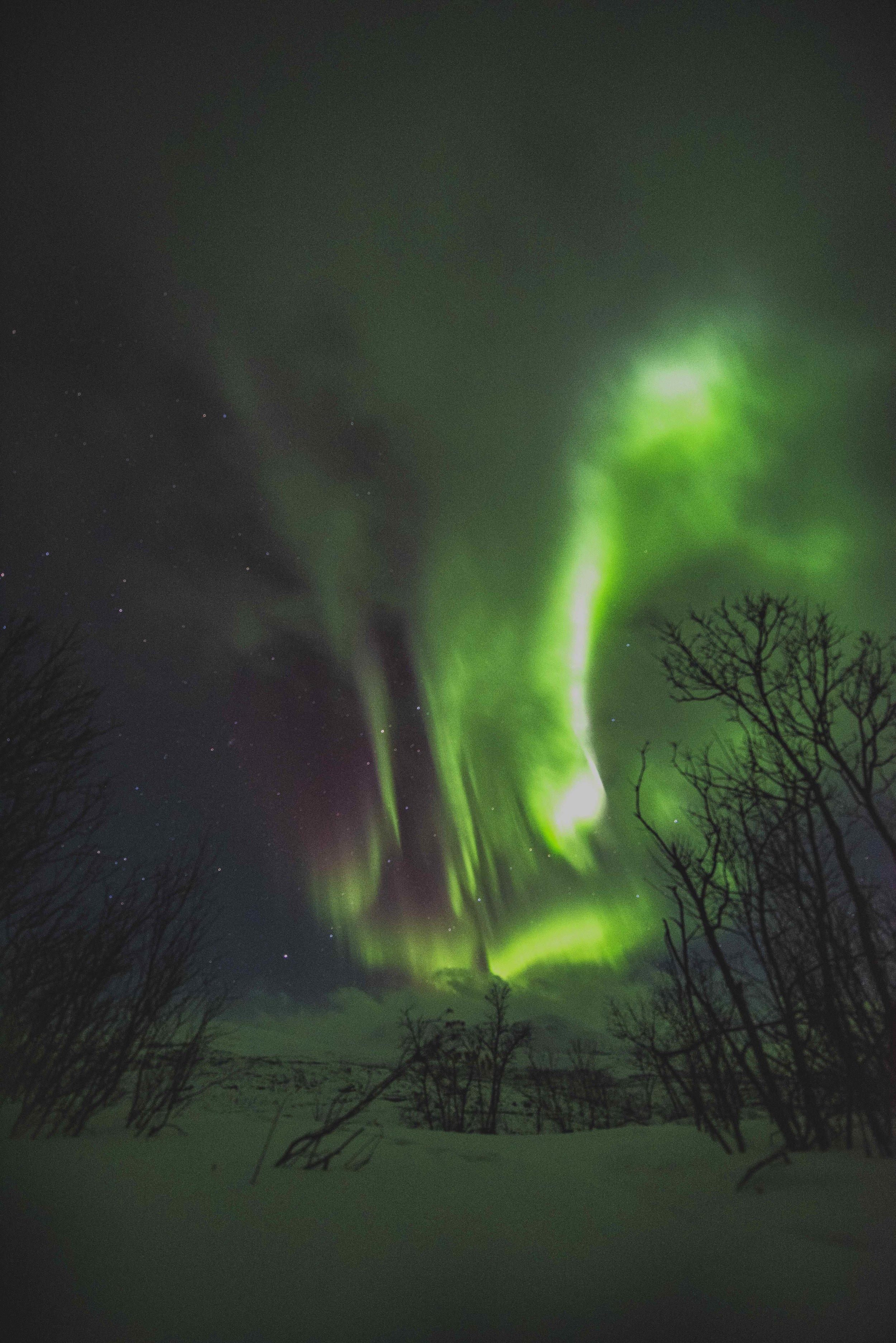 Norther Lights long exposure 3