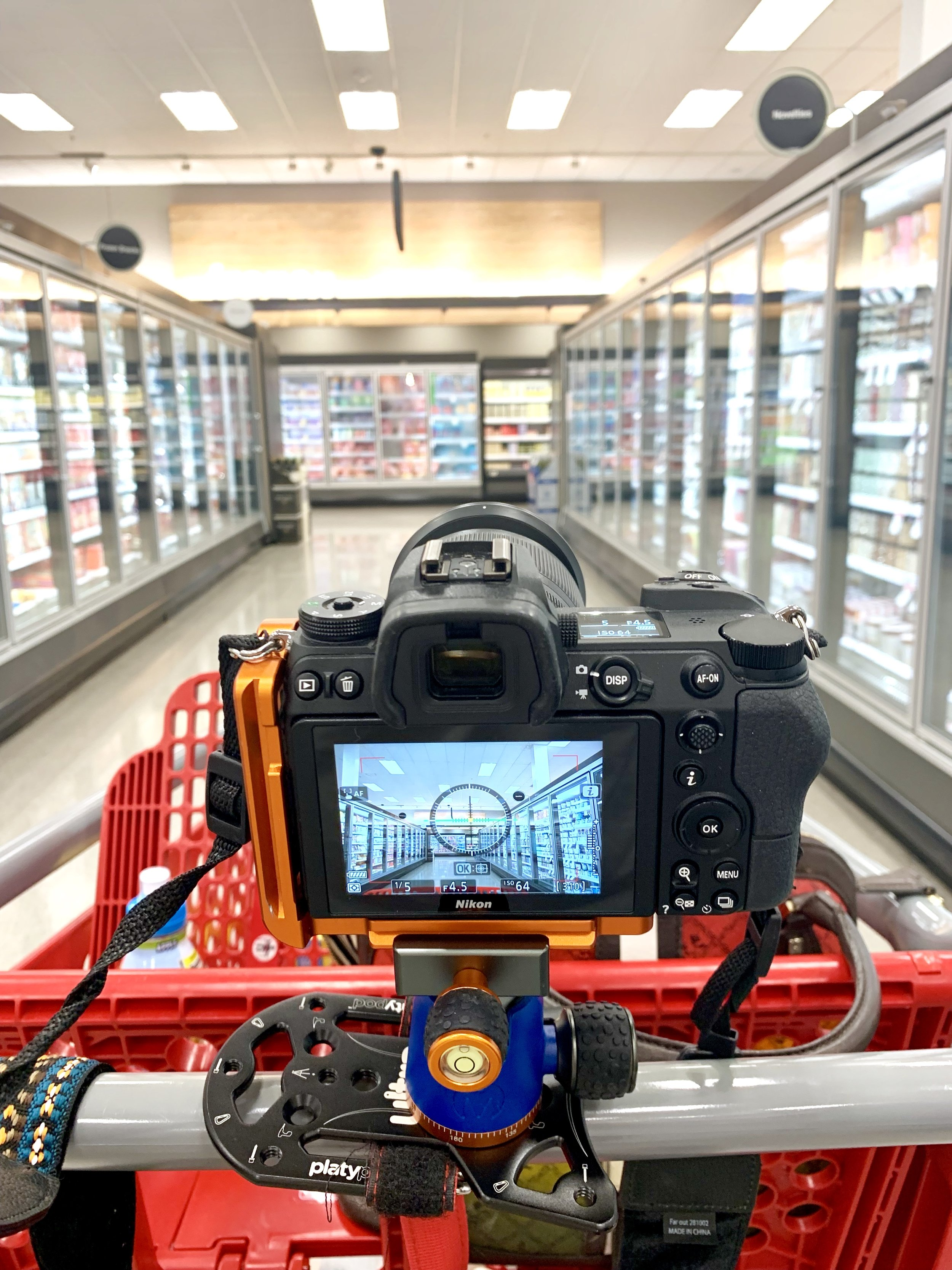 Grocery Shopping Blurr Behind the Scenes