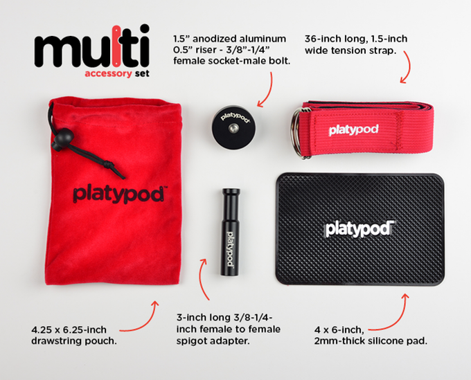 The Multi Accessory Kit - Compatible with either Max or Ultra.