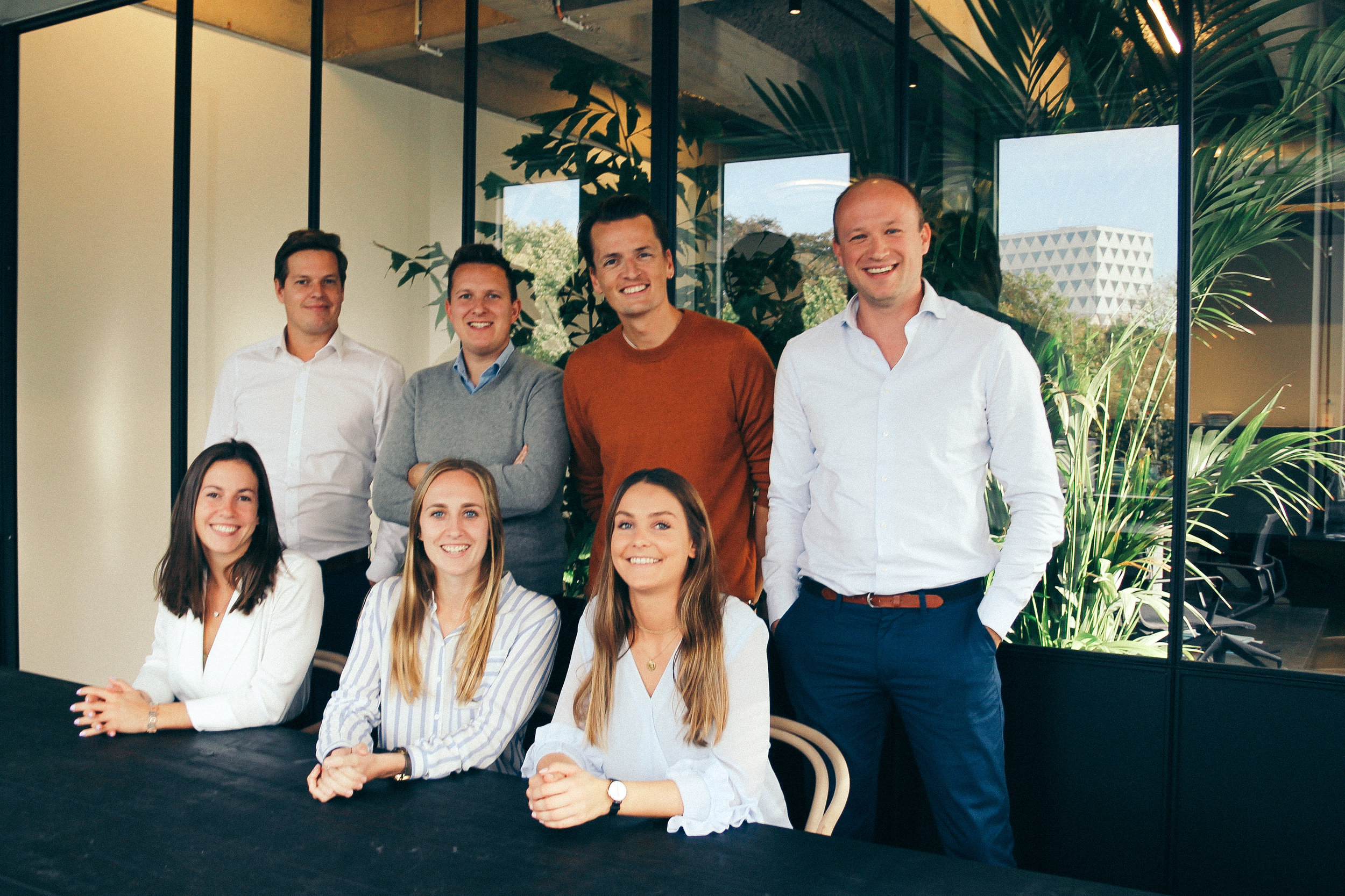 The Lawtree Advocaten team in their Fosbury & Sons Harmony office.