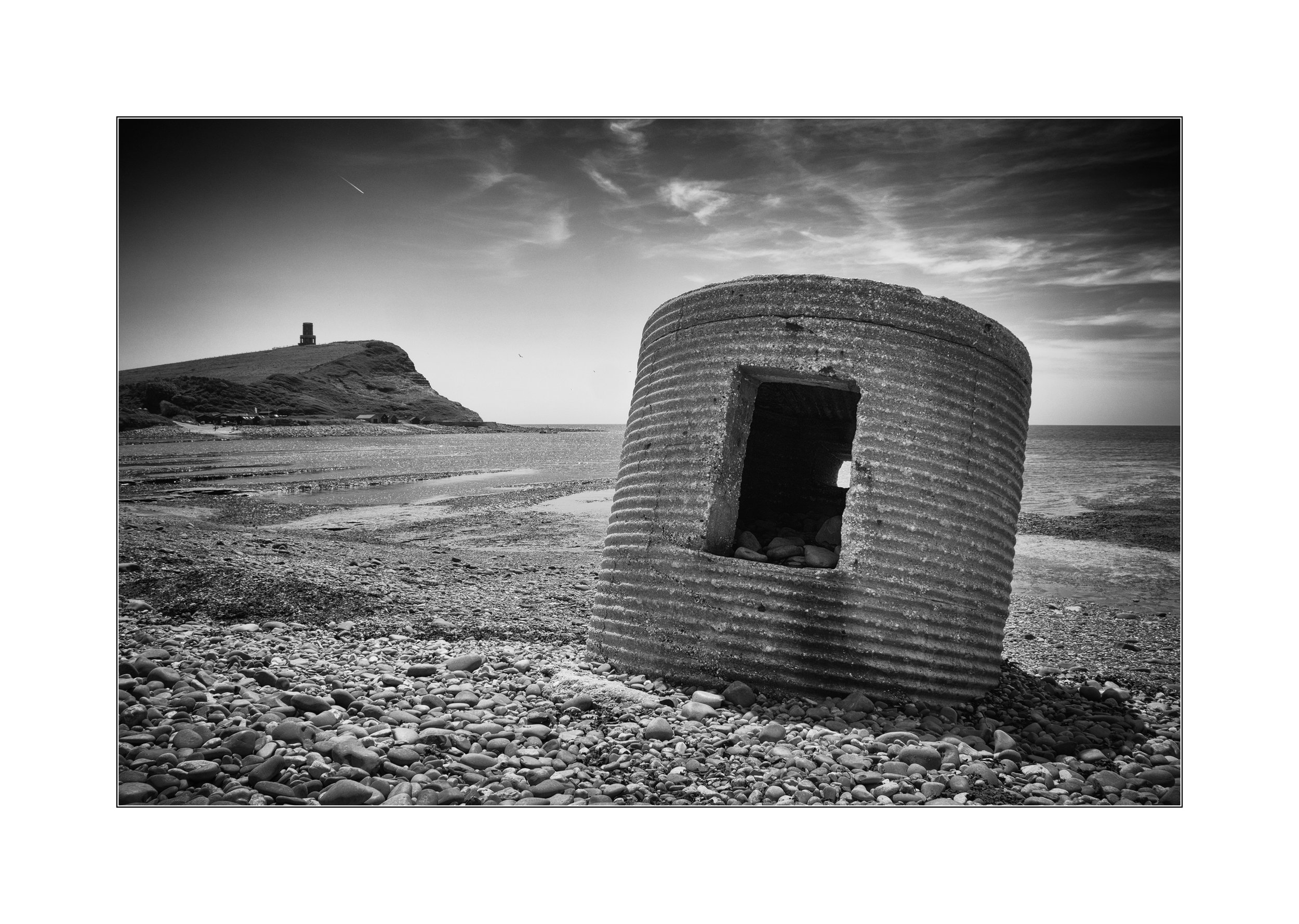 Pillbox on beach - By Phil Dean