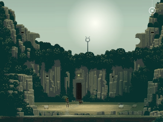 坐落於山間秘境的遠古遺跡,鐵柵欄內究竟通往哪裡呢?