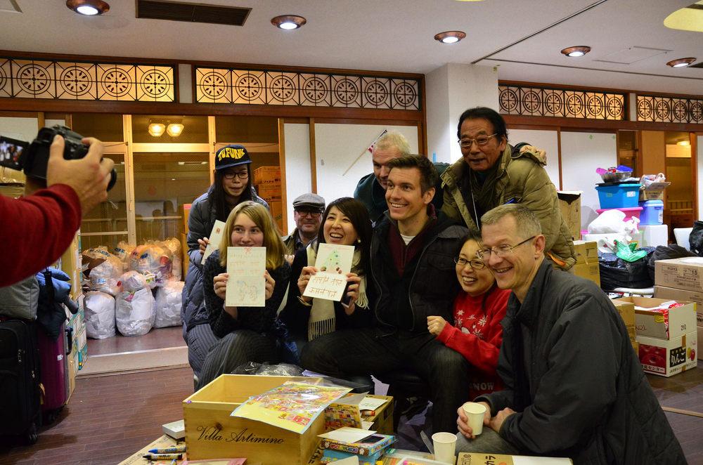 Volunteers at the 2016 Santa Soul Train Event