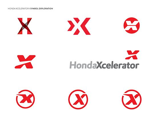 Honda Xcelerator Logo Exploration