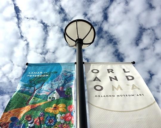 Orlando Museum of Art Poles