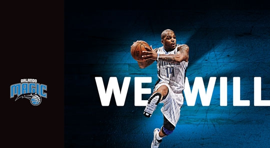 Orlando Magic 2012 Campaign Billboard