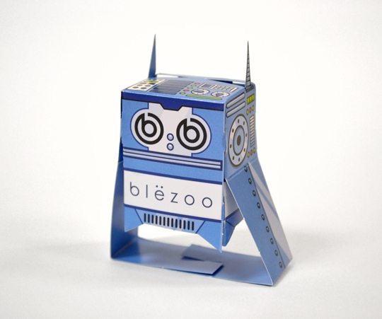 Fully Assembled Blezoo Bot