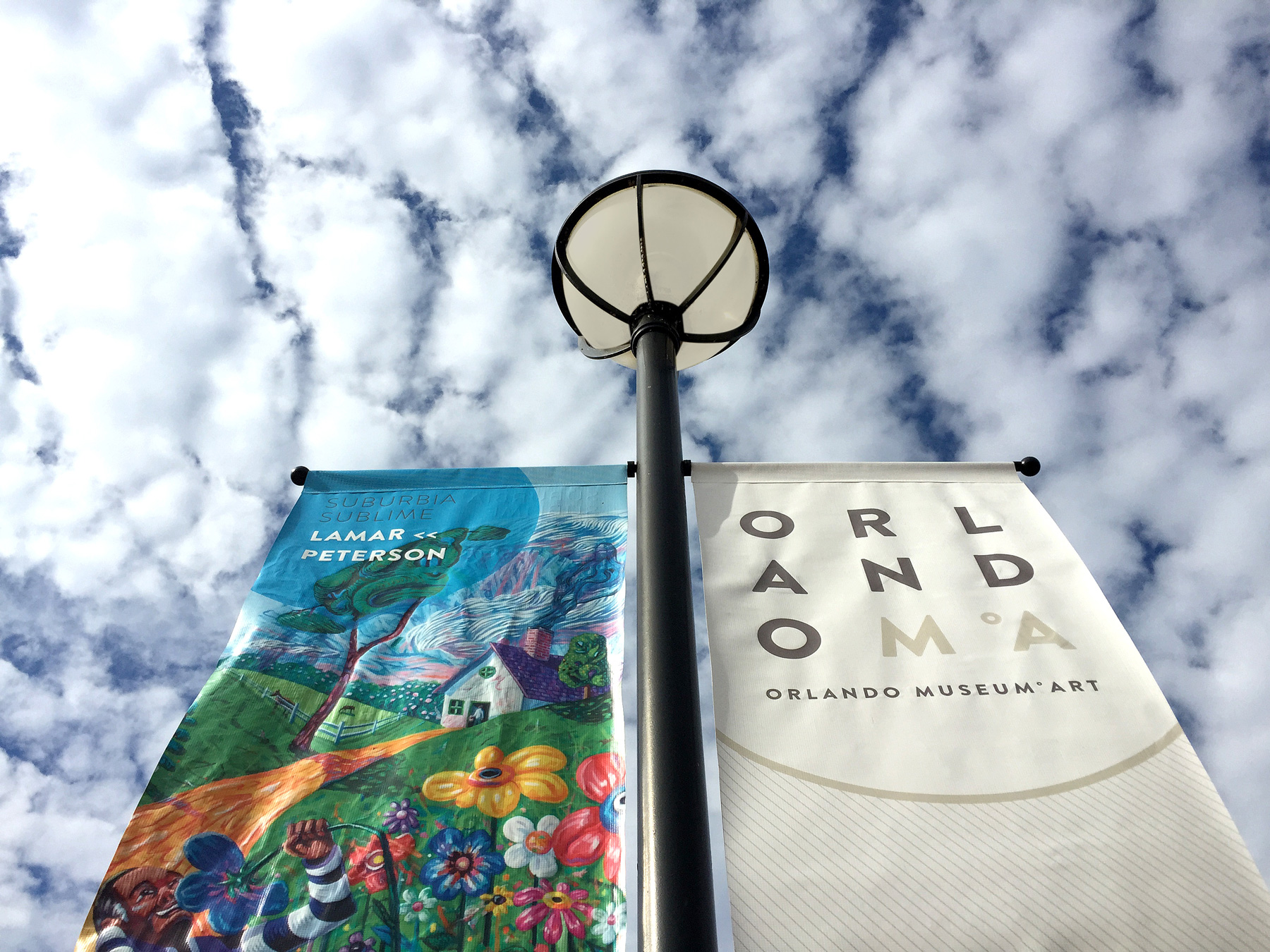 Orlando Museum Of Art Pole Banners