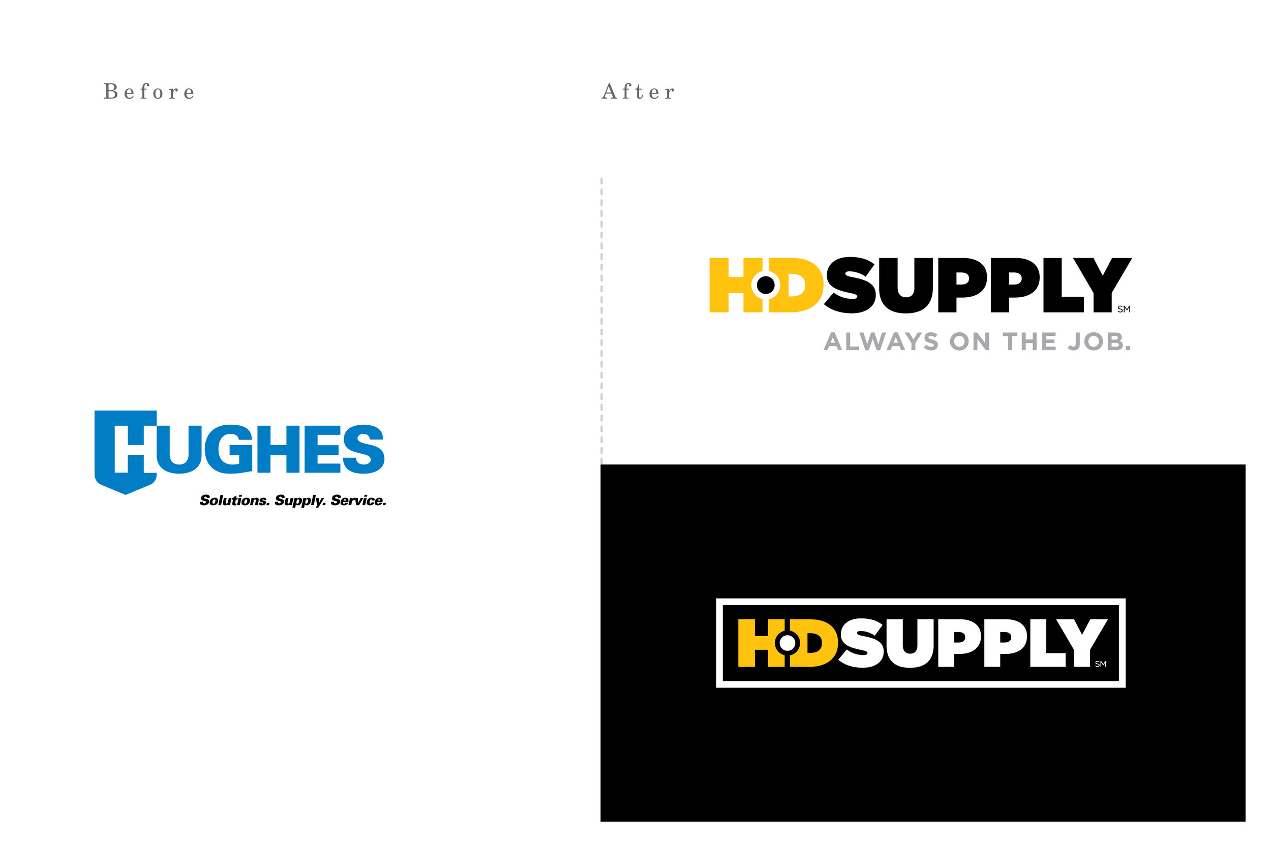 HD Supply Rebrand