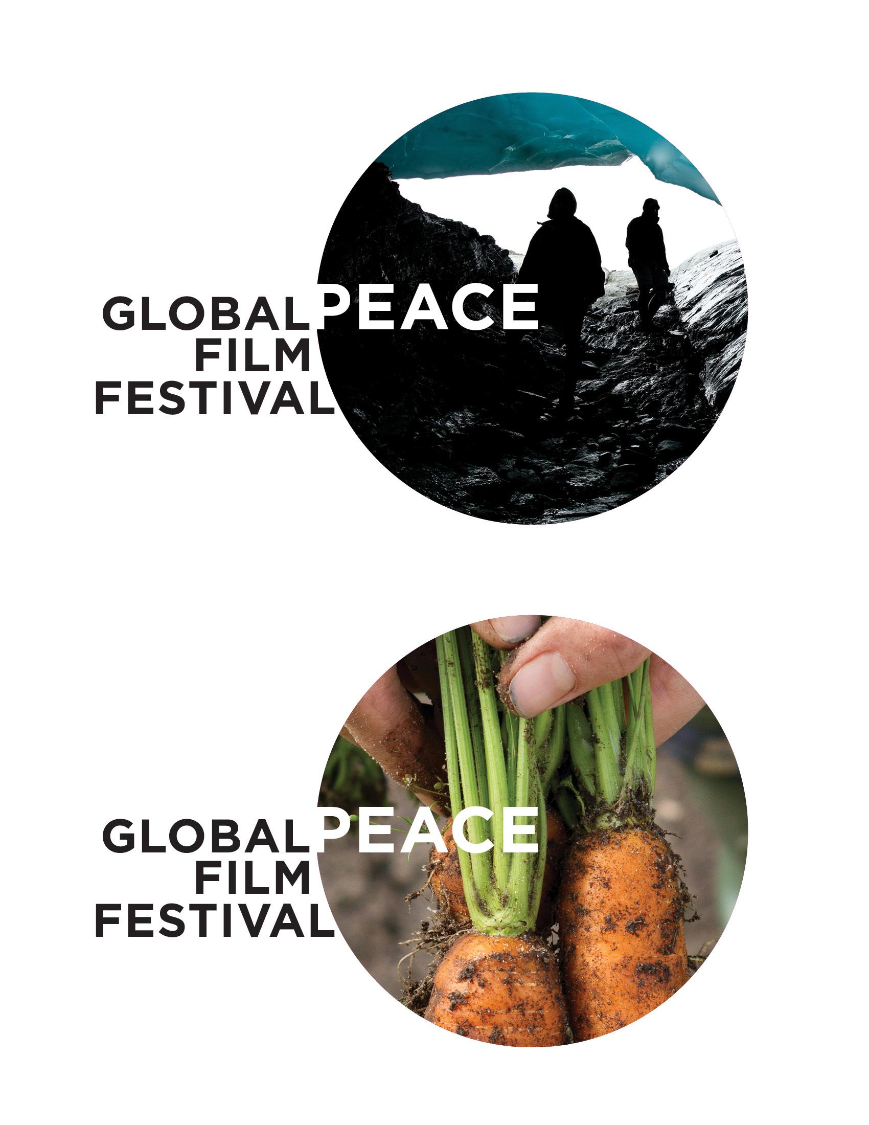 Global Peace Film Festival Rebrand