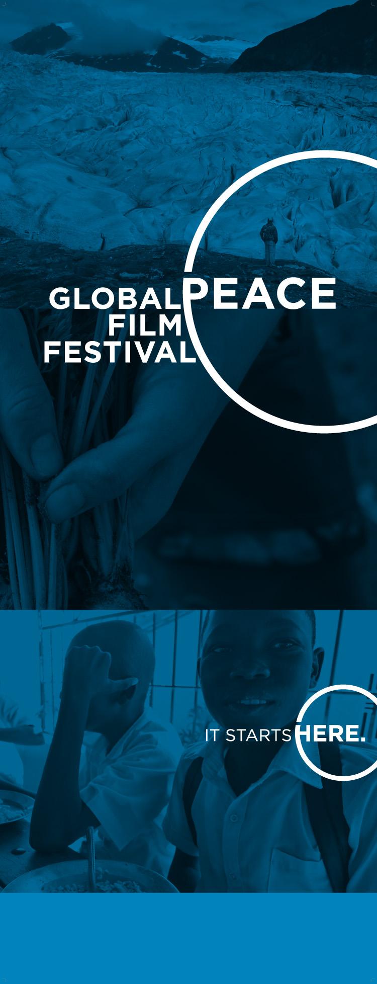 Global Peace Film Festival Rebrand Poster
