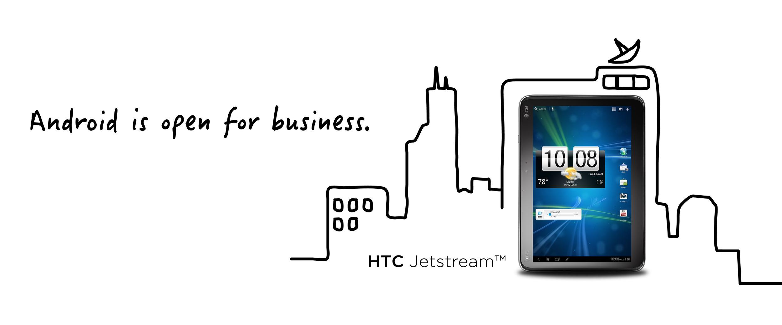 HTC Pro Ad Panel Five