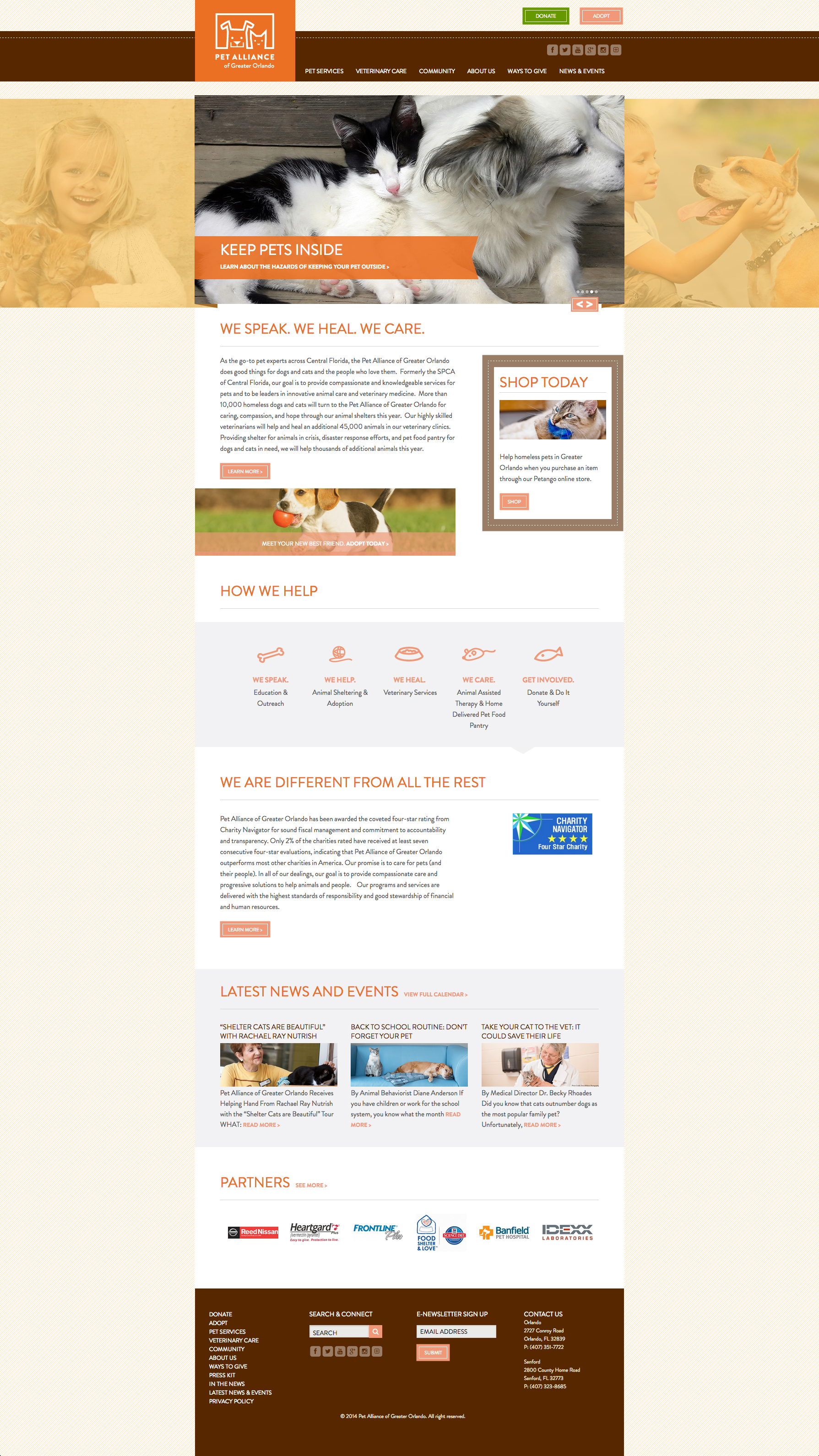 Pet Alliance of Greater Orlando Home Page
