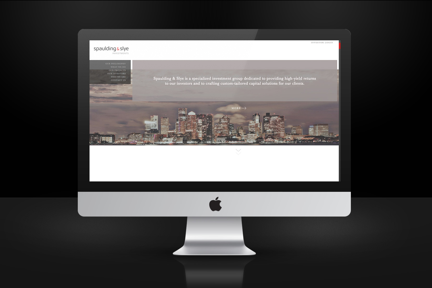 Spaulding & Slye Website