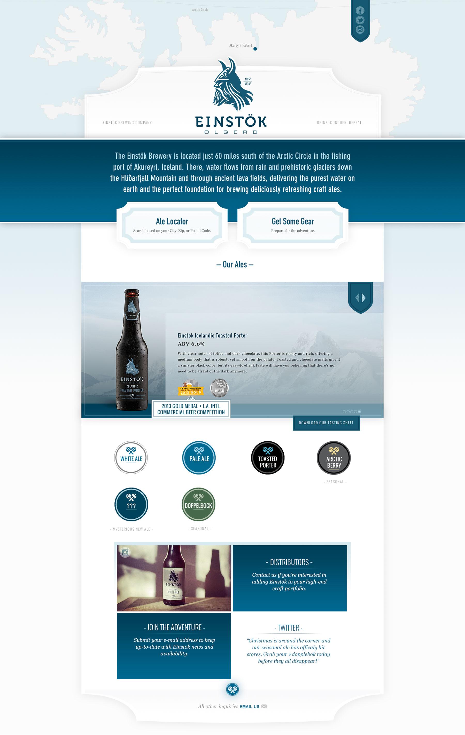 Einstock Website Full