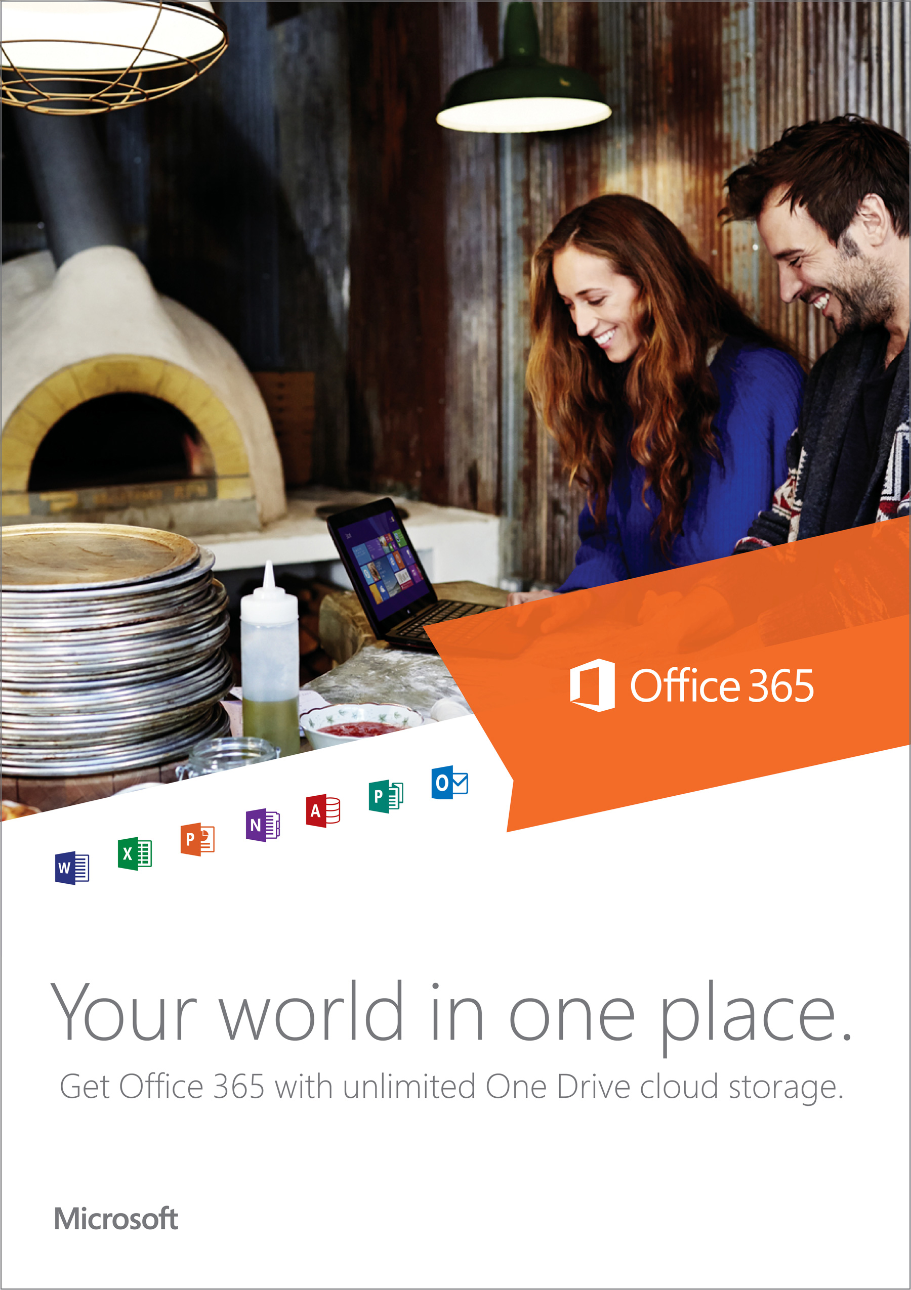 Microsoft Office 365 - Poster Campaign