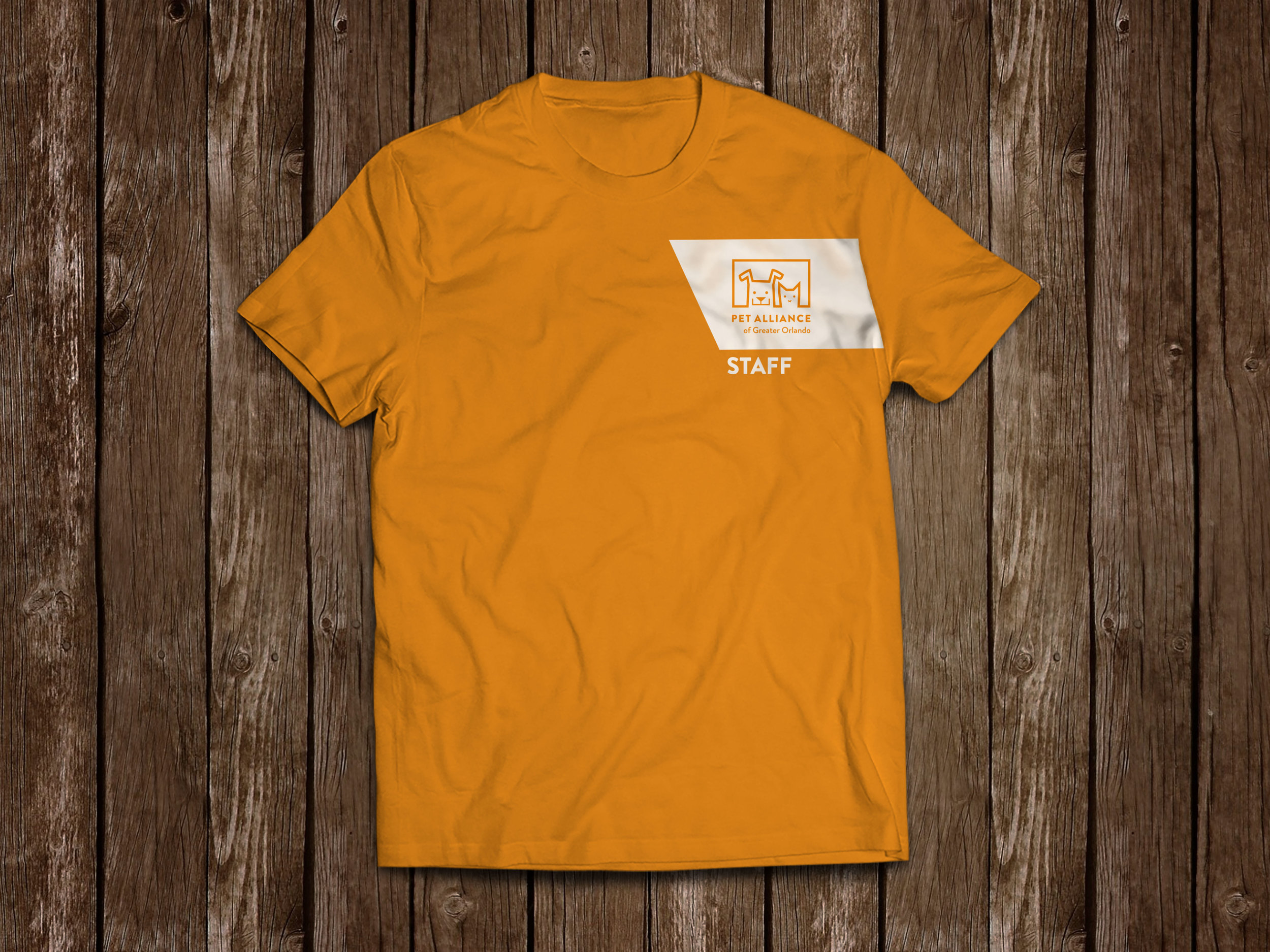 Pet Alliance of Greater Orlando T Shirt - Front