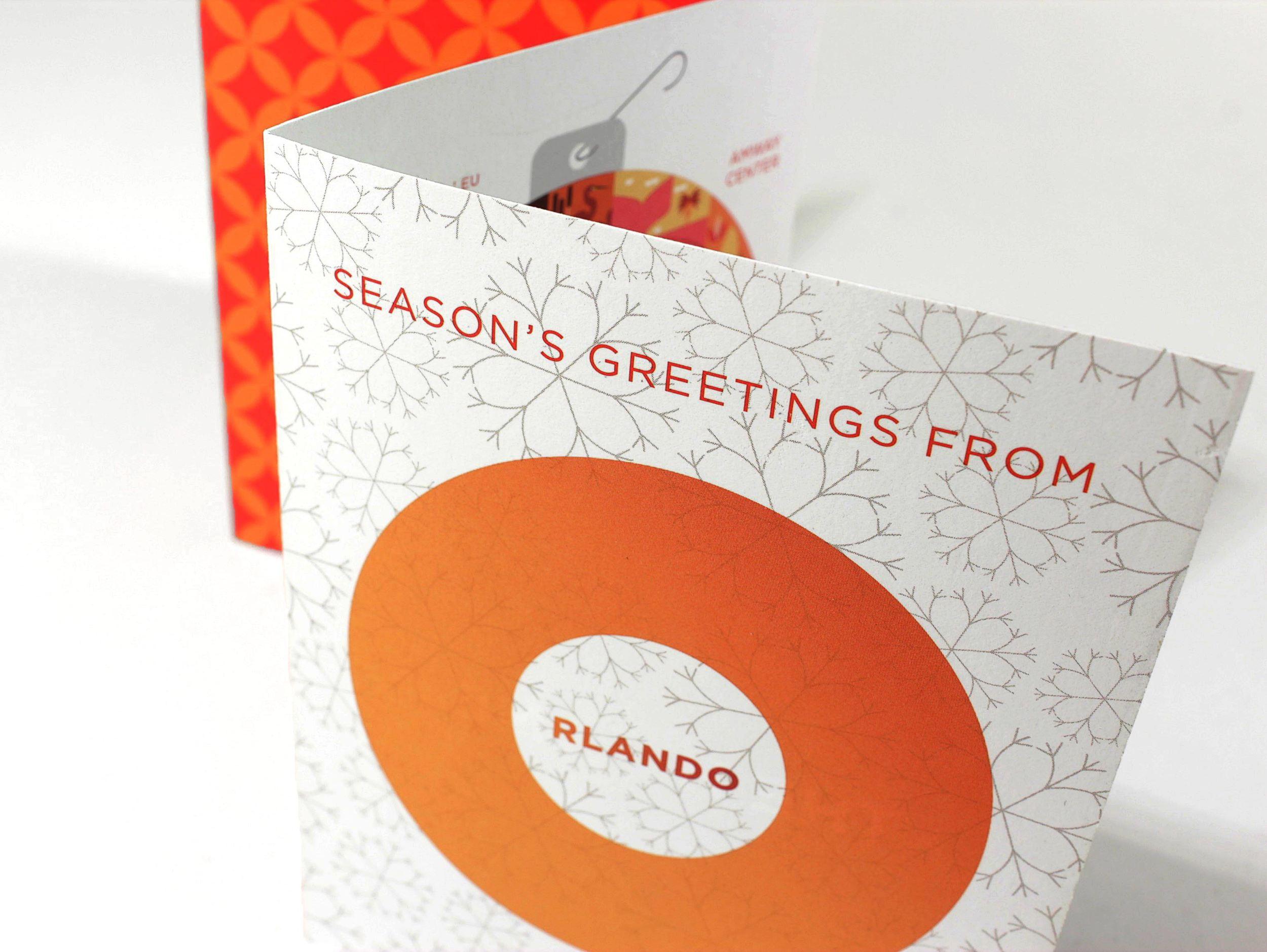 Orlando Venues Holiday Card