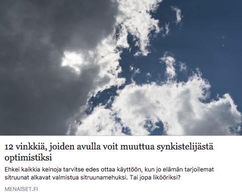 Positiivinen psykologia, Netta Lehtonen, Joylla