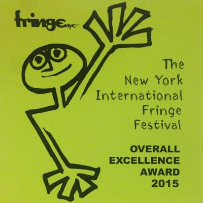 The production was selected as a FringeNYC  Overall Excellence Winner !