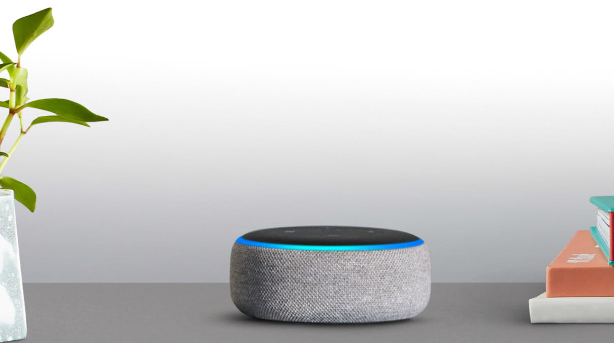 1) Amazon Echo Dot third-gen -