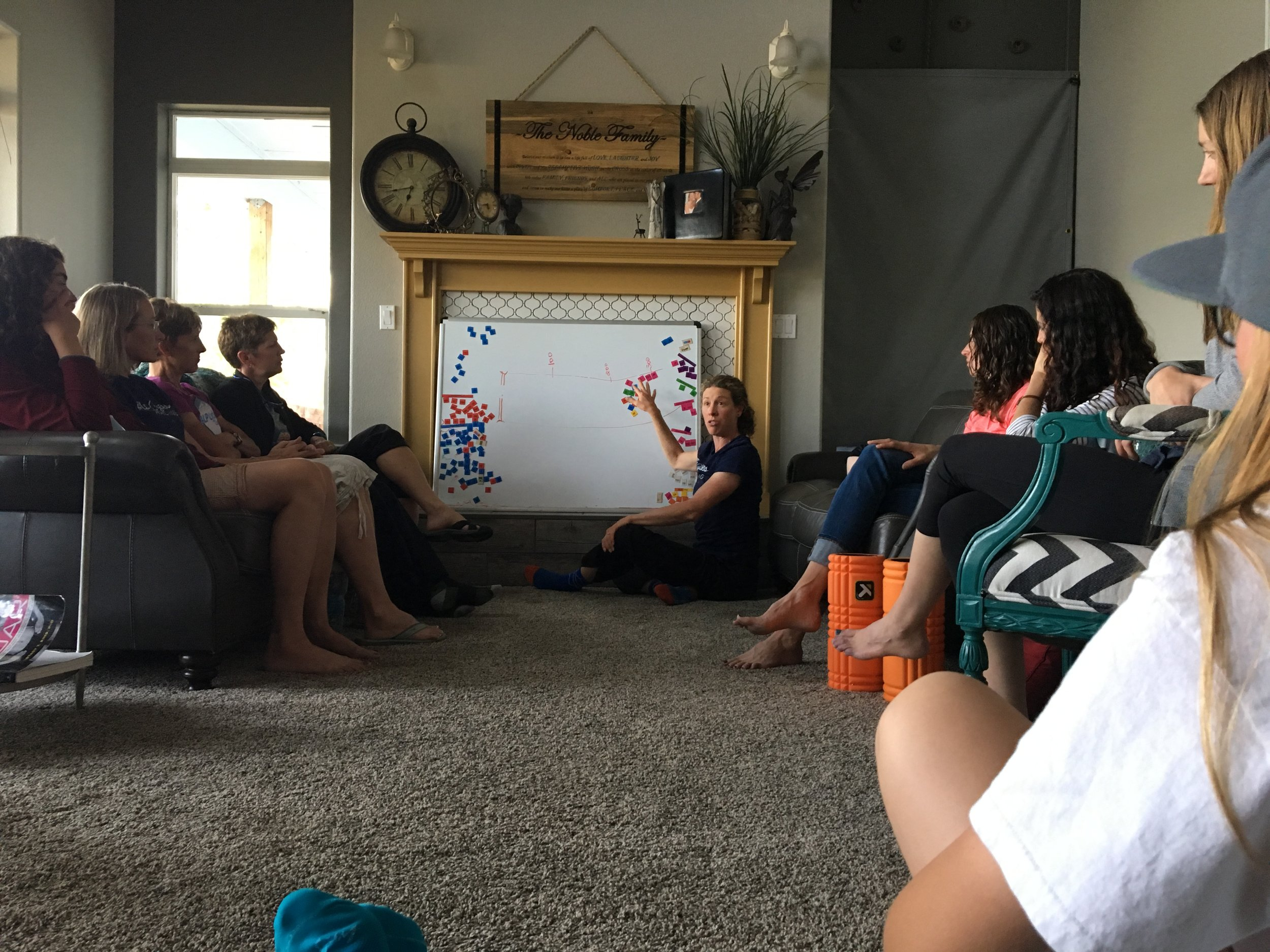 Happy hour leadout talk and how-to's