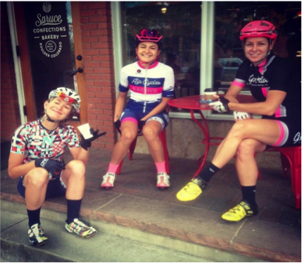 Easy rides should always include coffee and lots of chatting