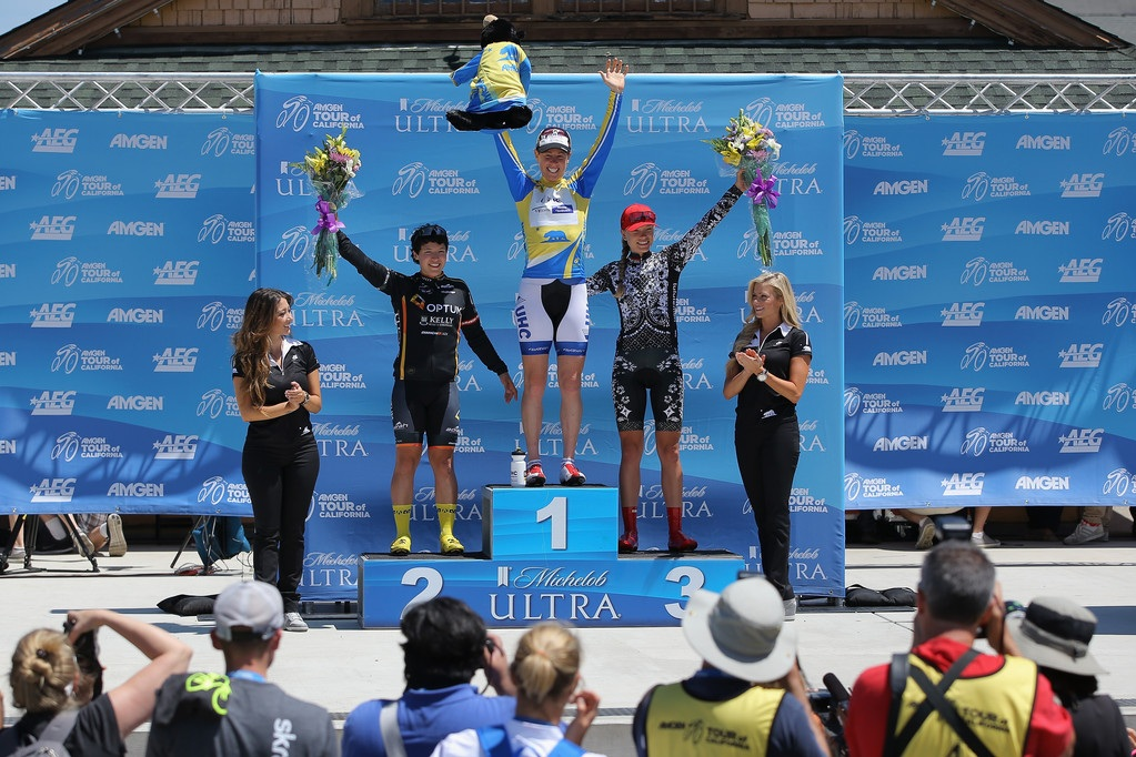 2014 Tour of California (Time Trial): 1st: AP !, 2nd: myself, 3rd: Taylor Wiles