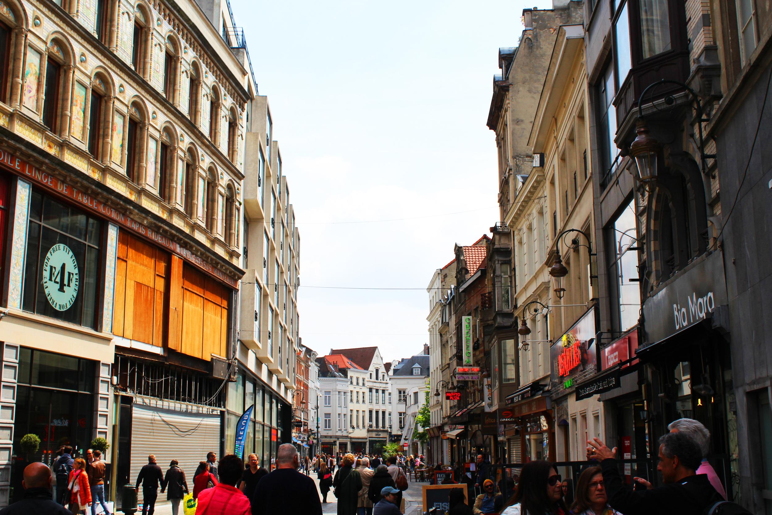 Downtown Brussels - Photograph by Lauren Martin