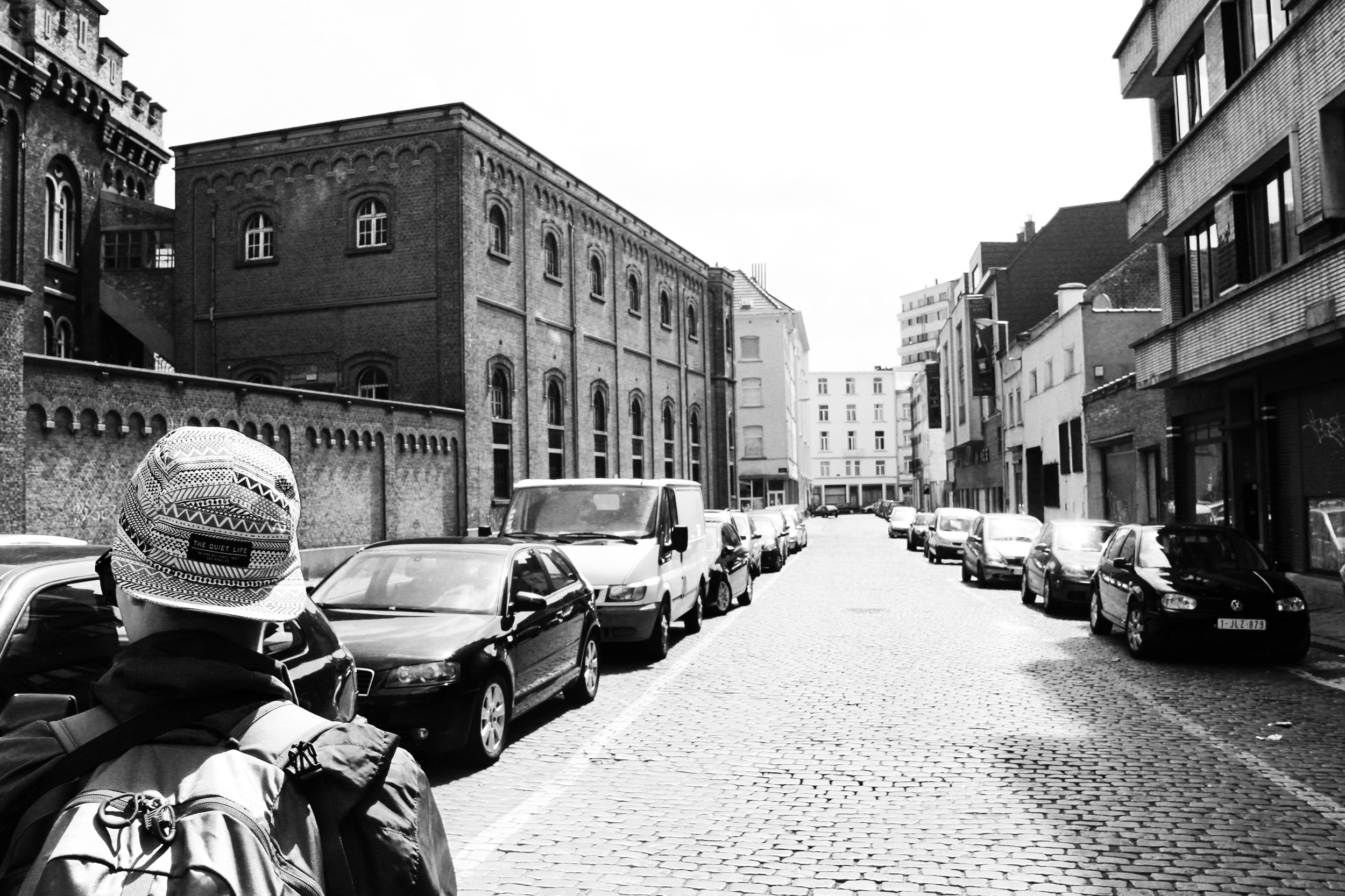 The streets of Brussels. Photograph by Lauren Martin