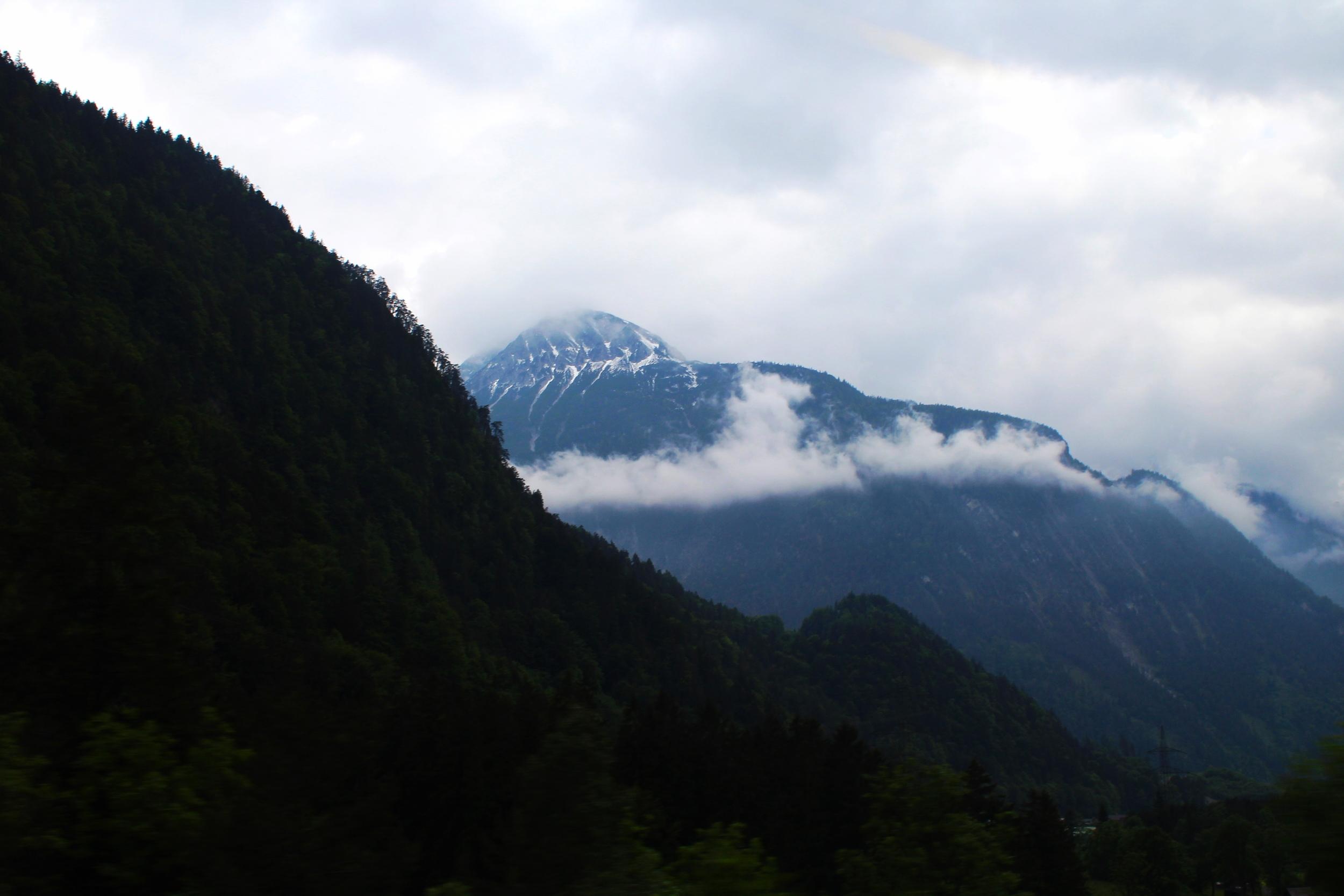 Swiss Mountains, Photograph by Lauren Martin