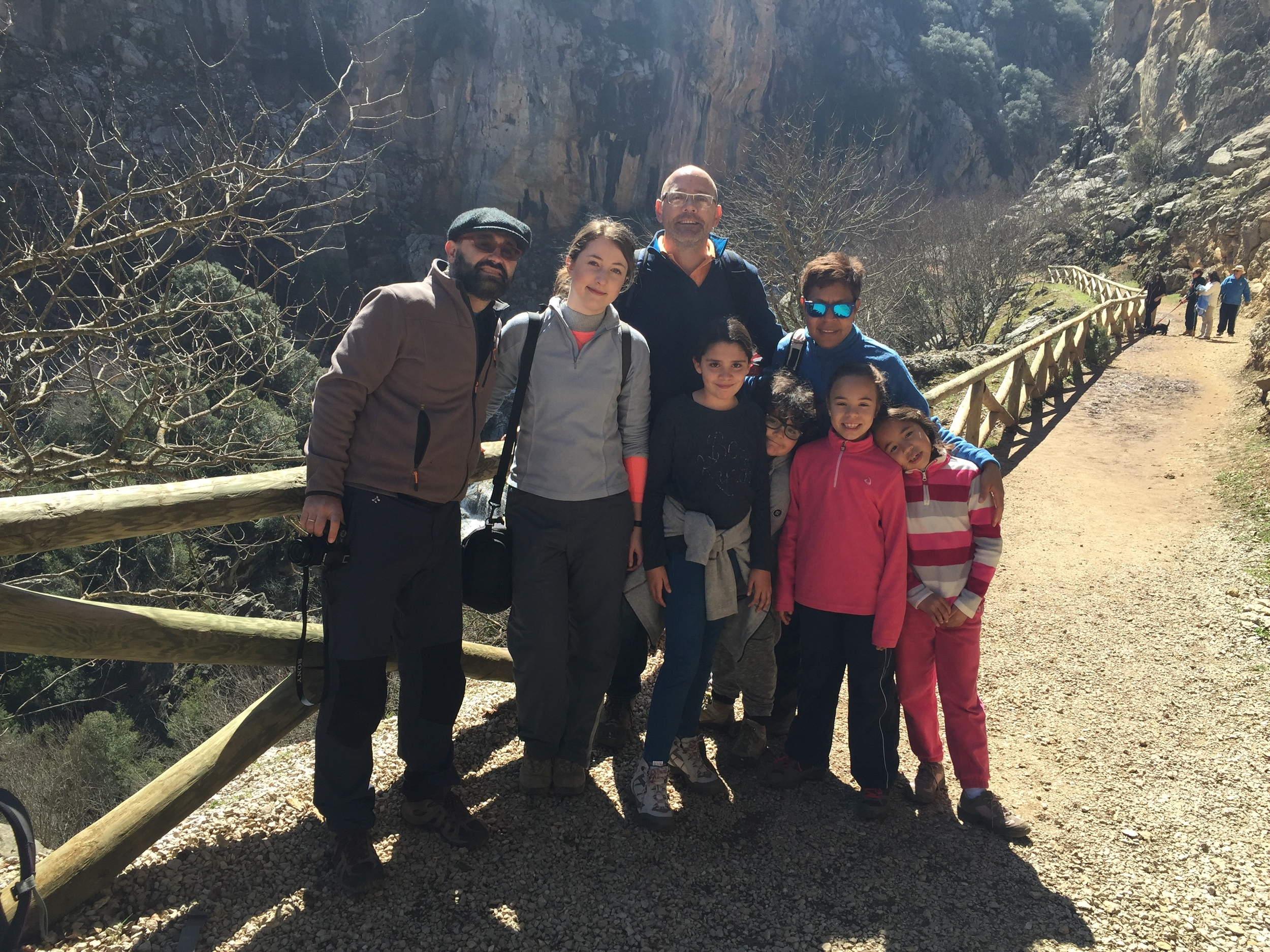 Two families joined together for a great adventure!