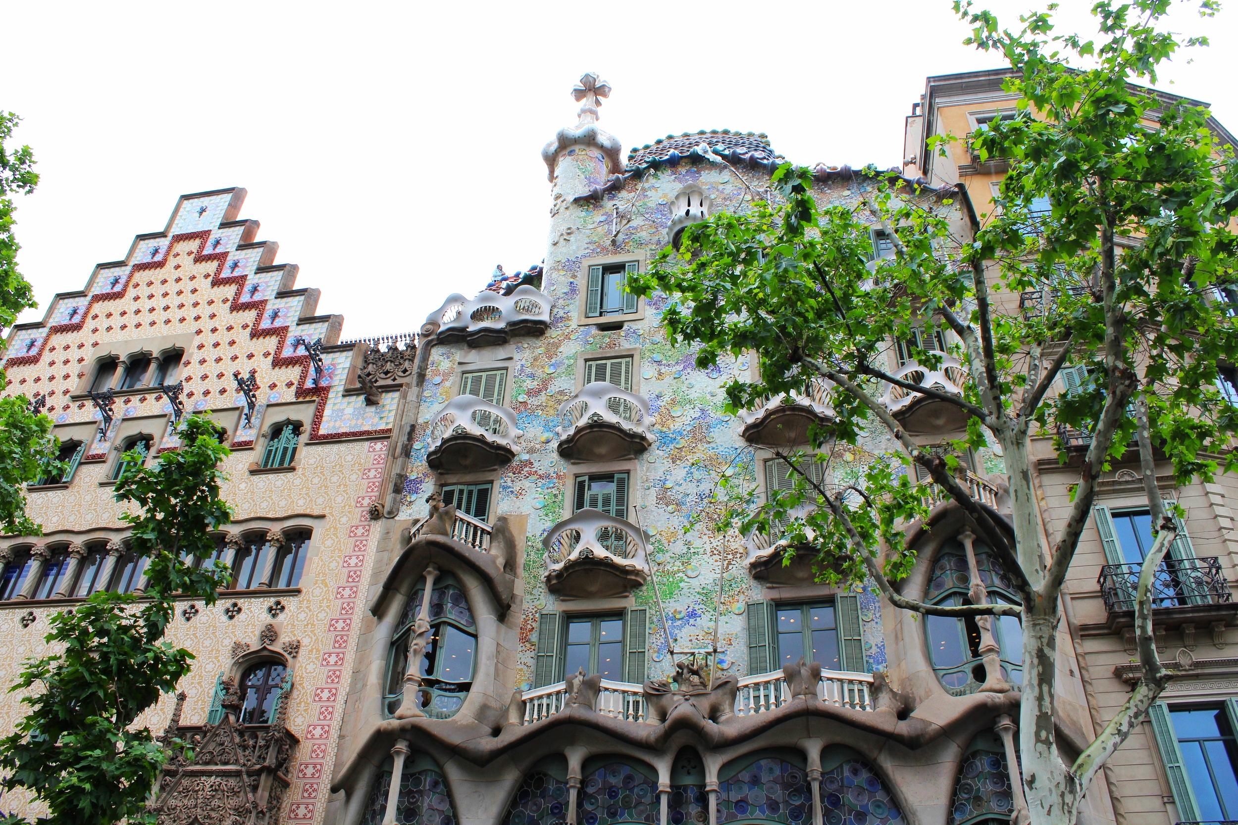 "Photograph by Lauren Martin ""Gaudi House"""