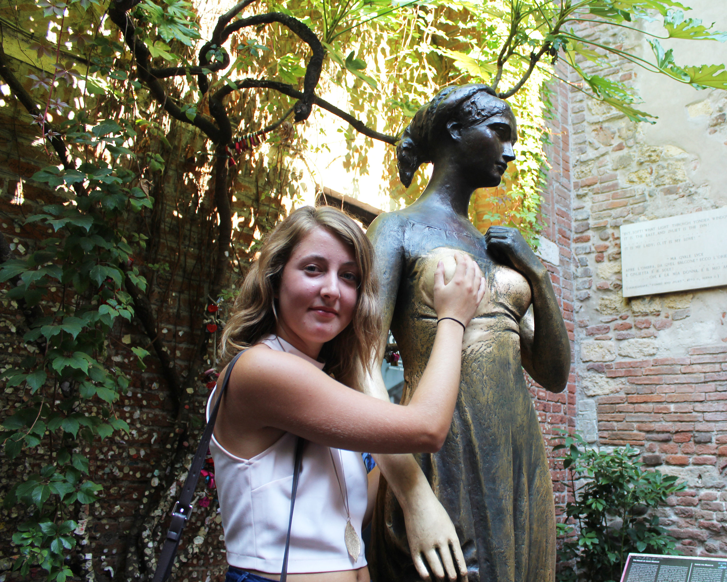 Please dont mind my face... I had a million tourists staring my way (also found it random holding a breast) haha.