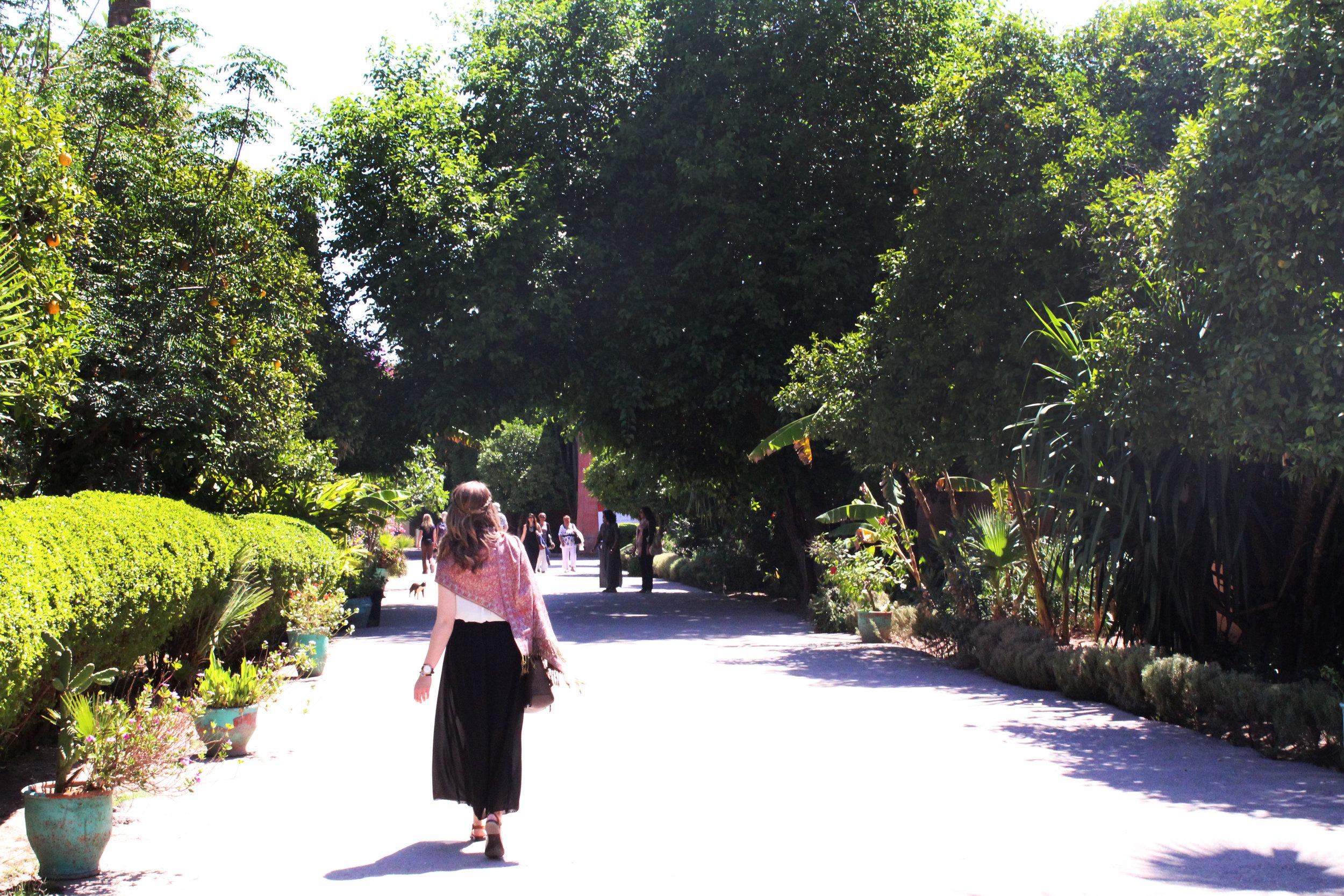 Enterance to the Bahia Palace