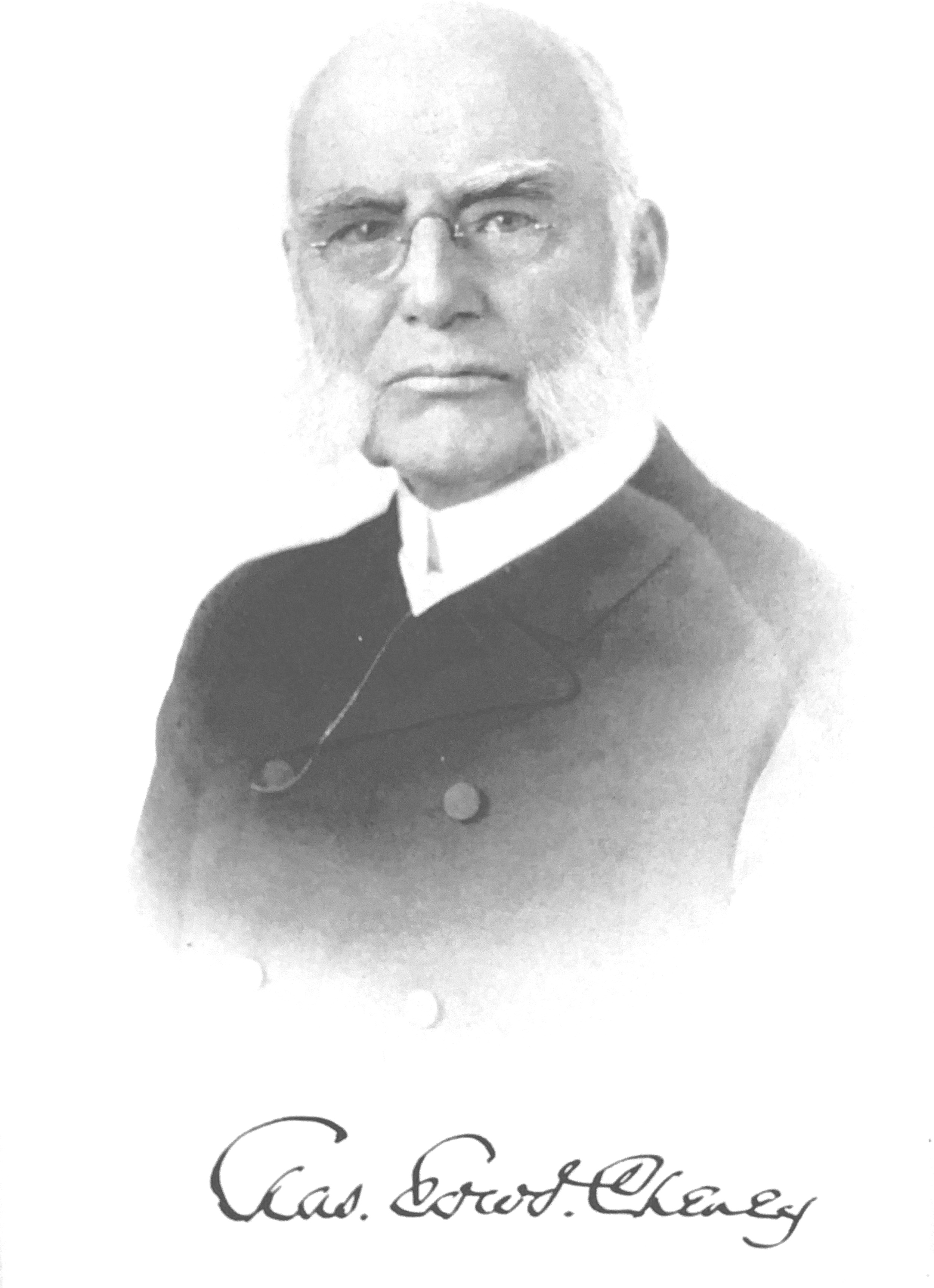 Bishop Charles Edward Cheney Second Bishop of the Reformed Episcopal Church First Bishop of the Synod of Chicago