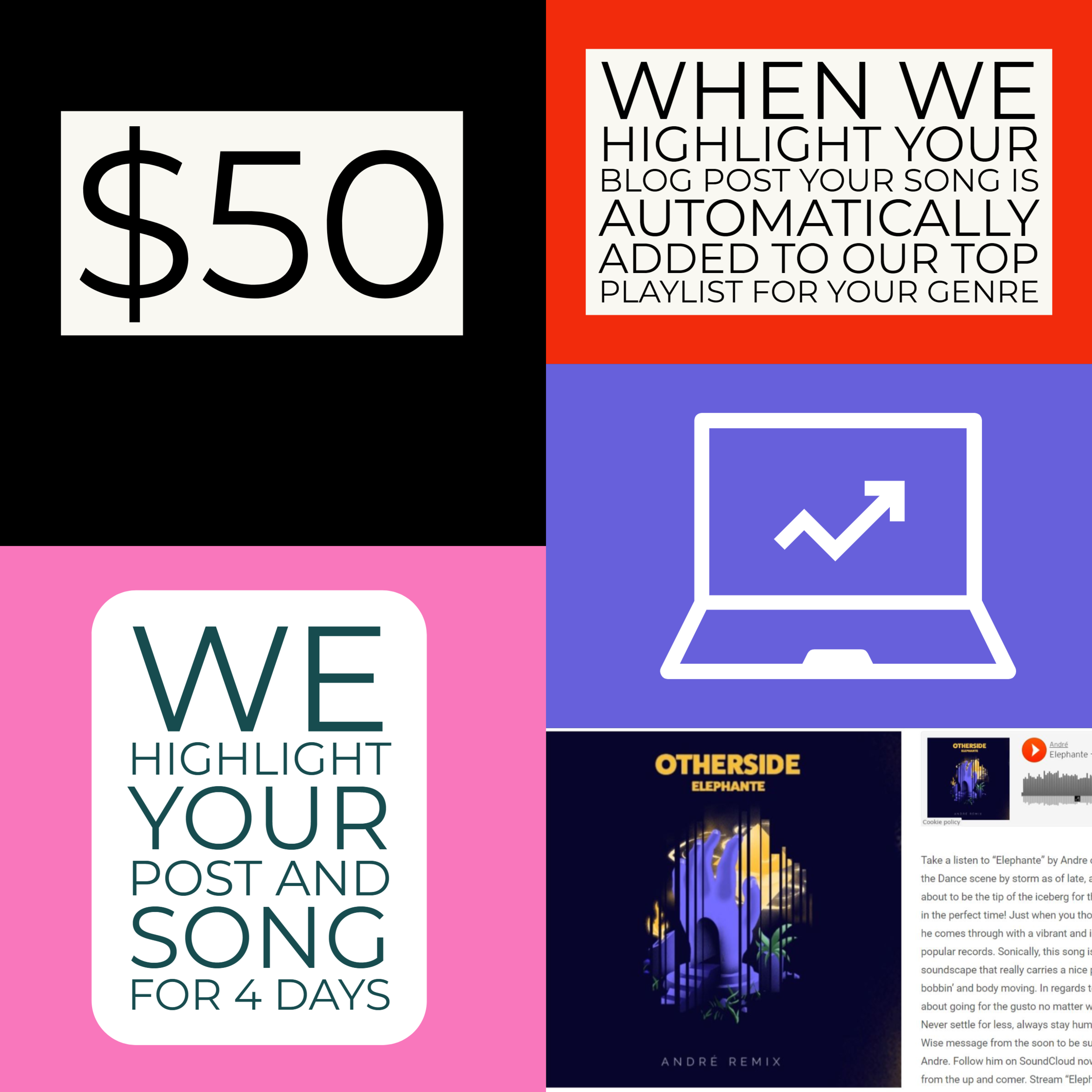 Blog Highlight - Best Music Promotion Services for Up and Coming Artists