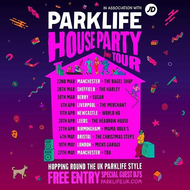 House party vibes from @parklife_festival , special guest announcements incoming!