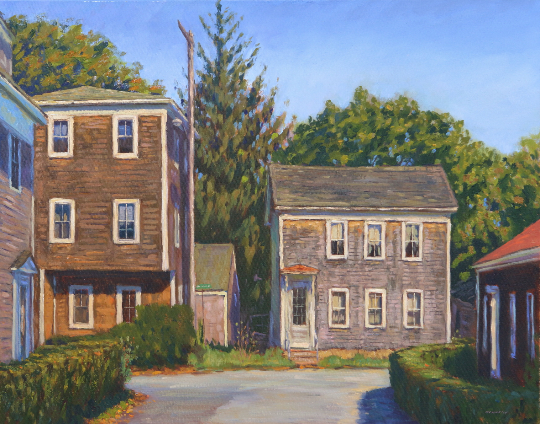 A Morning on Standish Street oc 22x28 KENNEDY PTG .JPG