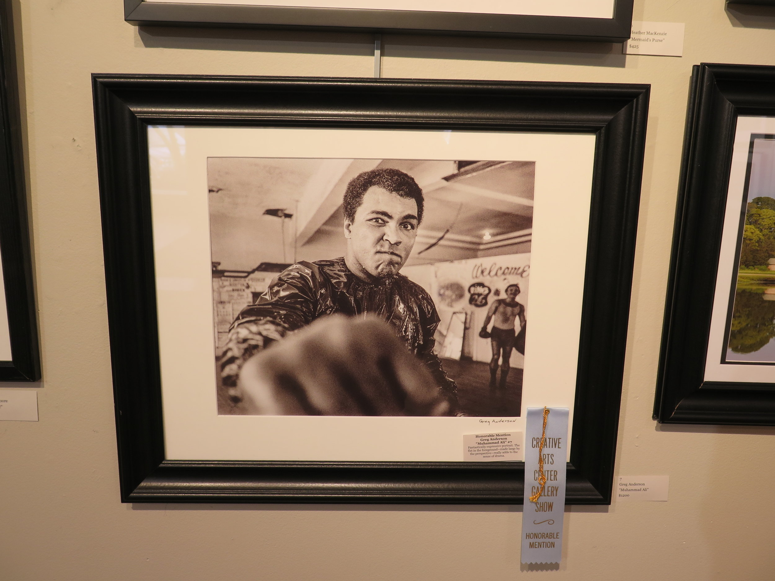 "Honorable Mention Greg Anderson ""Muhammad Ali"""